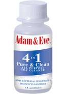 Adam And Eve 4 In 1 Pure And Clean Toy Cleaner 1oz
